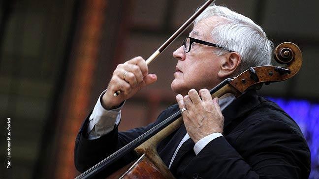 Zu seinem 75. Geburtstag gibt sich Star-Cellist David Geringas die Ehre.